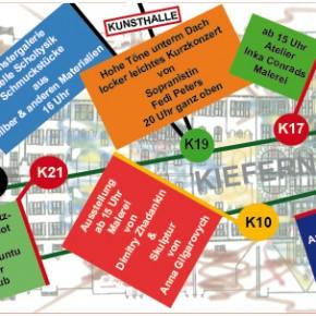Punkt Punkt Komma Kiefern Straßenplan