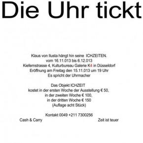 Ausstellung: Klaus von Ilusta